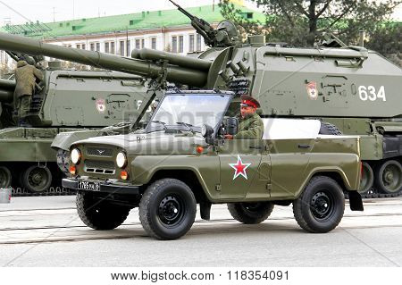 Victory Parade 2014 In Yekaterinburg, Russia