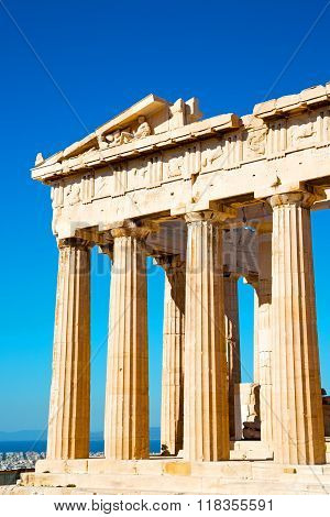 Athens  Acropolis And  Historical    In  Architecture