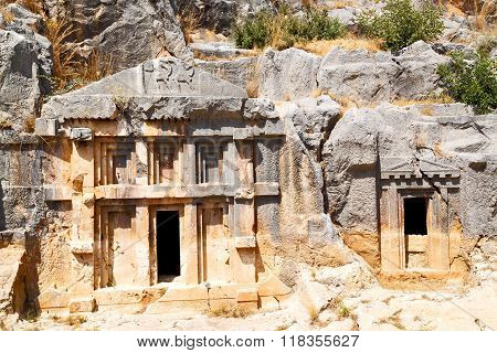 In  Myra Turkey Europe Old Roman