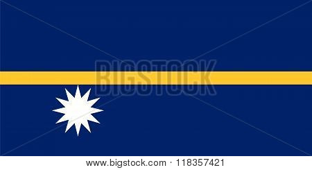 Standard Proportions For Nauru Flag