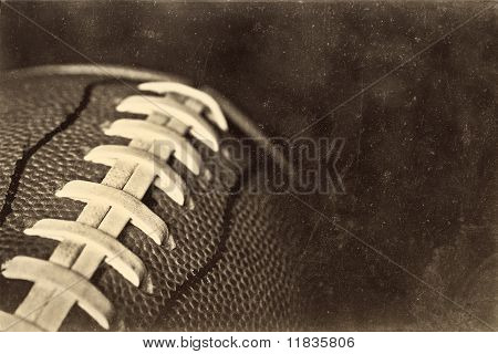 Retro Grunge American Football Background