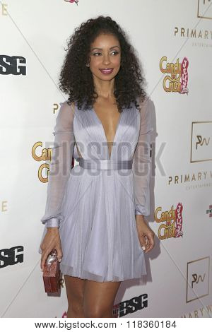 LOS ANGELES - FEB 14:  Mya Harrison at the Primary Wave 10th Annual Pre-GRAMMY Party at the London West Hollywood on February 14, 2016 in West Hollywood, CA