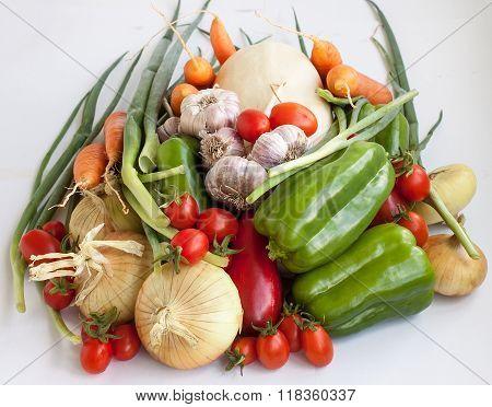 Big Crop Of Vegetables