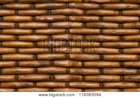 Wicker basket background surface texture seamlessly tileable