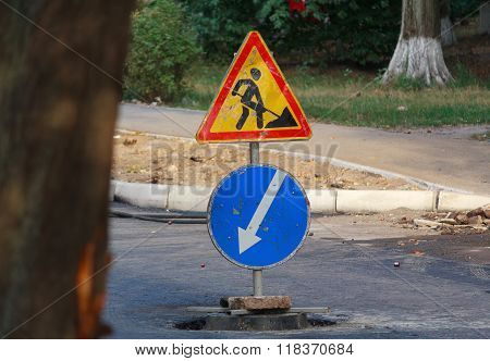 Signs Point Of Repair Work And A Warning About The Dangers