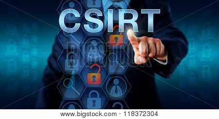Security Manager Pressing Csirt