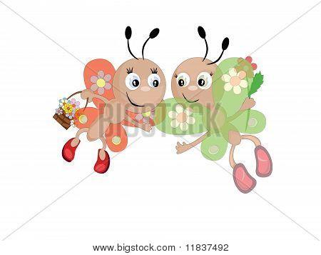 Butterflies Cmyk