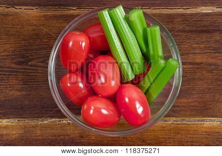 Cherry Tomatoes With Celery