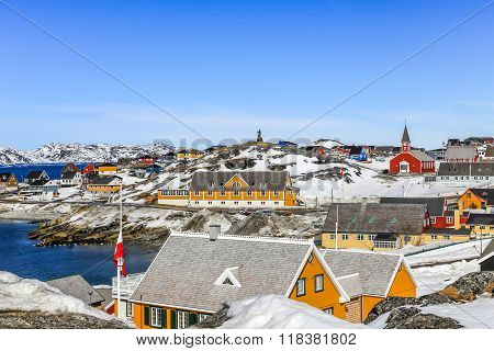 Historical Center Of Nuuk