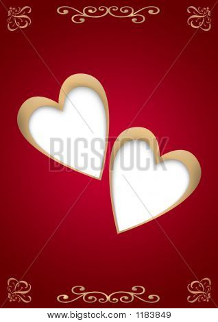 Hearts Two Gold