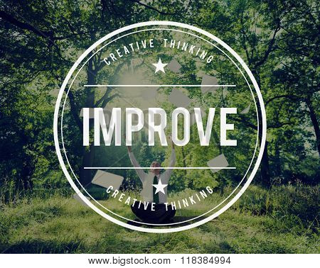 Improve Growth Improvement Innovation Update Concept