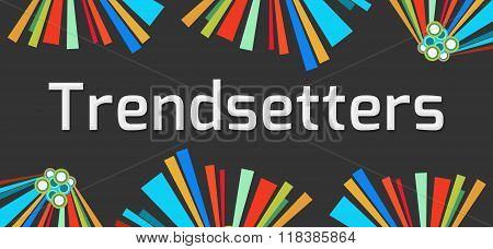Trendsetters Dark Colorful Elements
