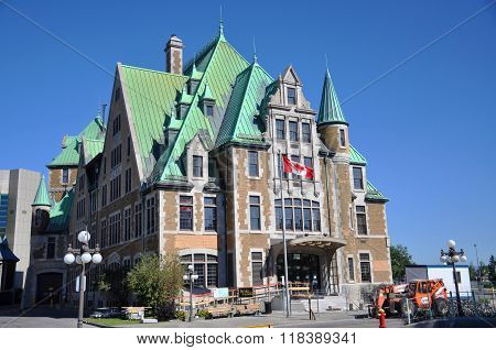 Gare du Palais, Quebec City Train Station, Canada