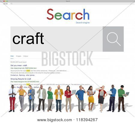 Craft Art Professiona Skilled Talent Concept