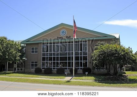 Oak Island Town Hall Building