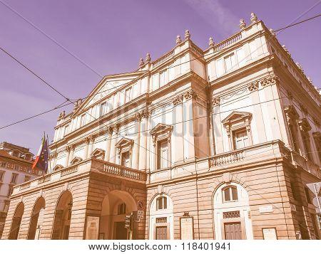 Teatro Alla Scala Milan Vintage