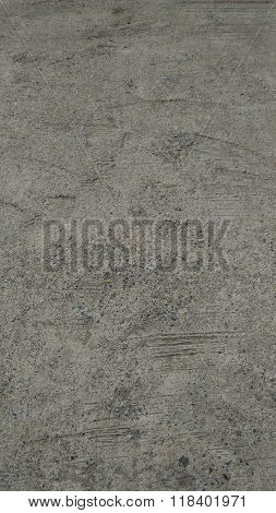 Cement Floor Vertical Picture.