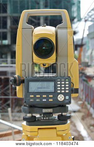 Survey equipment call theodolite