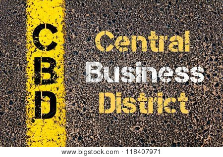 Business Acronym Cbd Central Business District