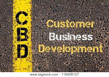 Business Acronym Cbd Customer Business Development