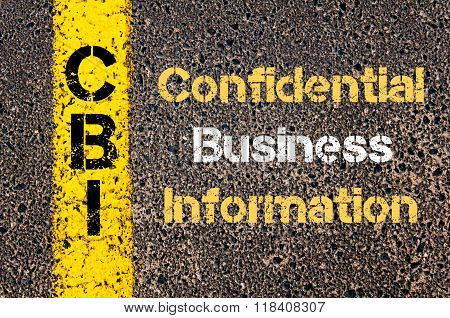 Business Acronym Cbi