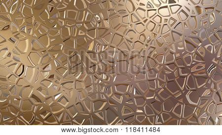 Golden Metal Giffar Pattern