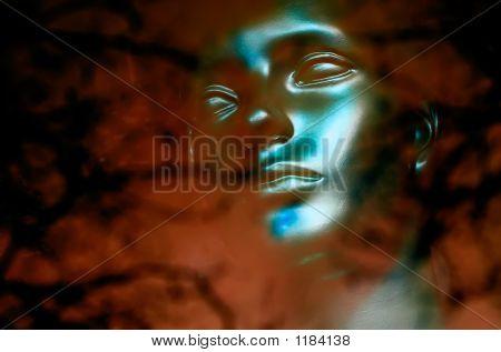 Face azul