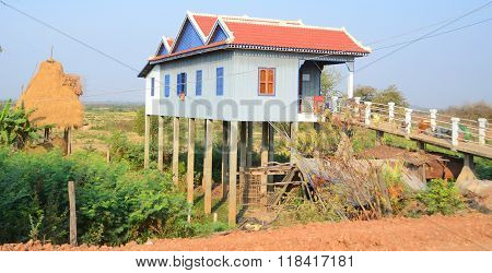 Typical homes on stilts