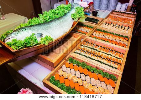 Including sushi Japanese food palatable and fish