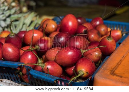 Fruits and Veggies in Market