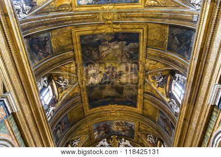 Santa Maria Dei Miracoli Church, Rome, Italy