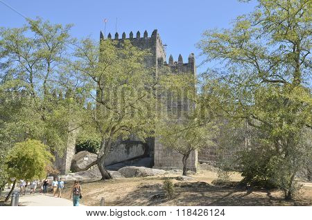 Path To  Guimaraes Castle