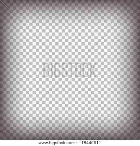 Grey Checkered Background.