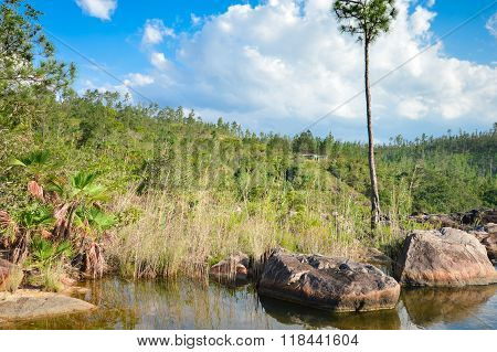 Rio On Pools In Mountain Pine Ridge Forest Reserve, Belize