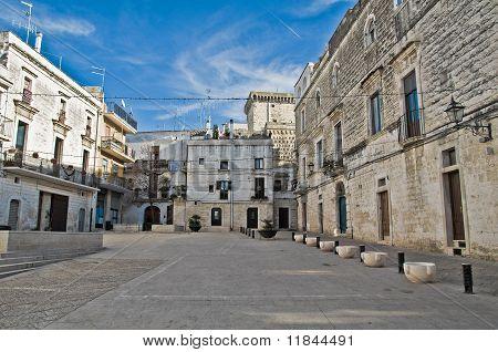 View of Rutigliano. Apulia.