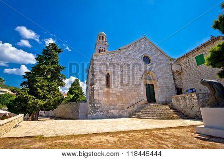 Island Of Hvar Historic Stone Church