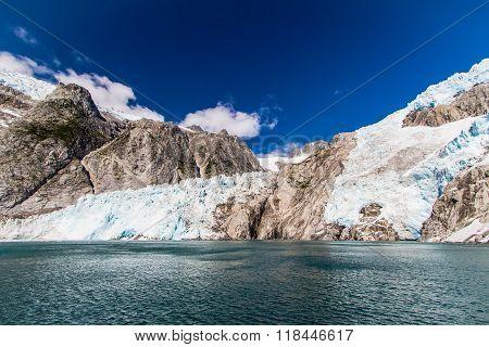 Northwestern Glacier And Fjord