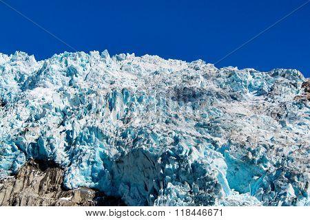 Precipice Of Harding Icefield