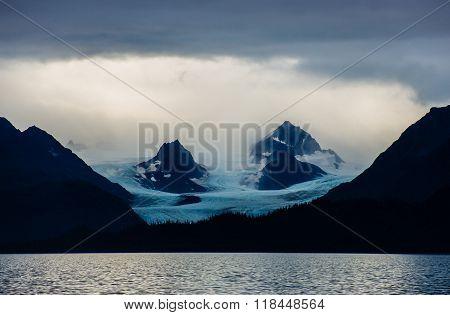 Glacier In Kachemak Bay