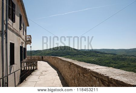 Buildings In Motovun