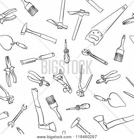 Seamless Work Tools Pattern