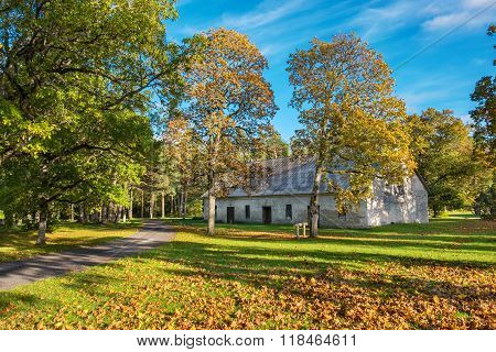 Autumn Park. Padise, Estonia, Europe