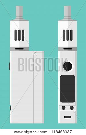Vape Box Mod With Atomizer