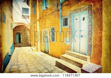 Arabian street