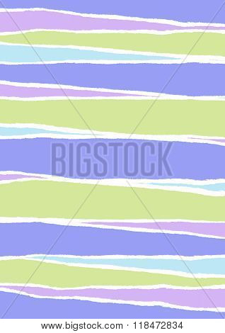 Ripped Striped Paper Background