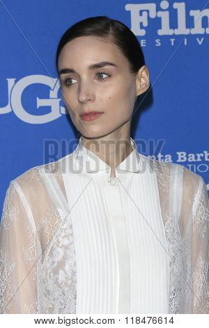 SANTA BARBARA - FEB 12:  Rooney Mara at the 31st Santa Barbara International Film Festival - Cinema Vanguard Award at the Arlington Theatre on February 12, 2016 in Santa Barbara, CA