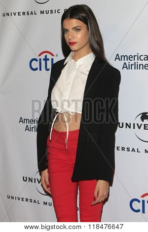 LOS ANGELES - FEB 15:  Sonia Ben Ammar at the Universal Music Group's 2016 Grammy After Party at the Ace Hotel on February 15, 2016 in Los Angeles, CA