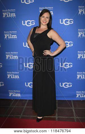 SANTA BARBARA - FEB 12:  Meredith Garofalo at the 31st Santa Barbara International Film Festival - Cinema Vanguard Award at the Arlington Theatre on February 12, 2016 in Santa Barbara, CA