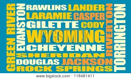 Wyoming State Cities List