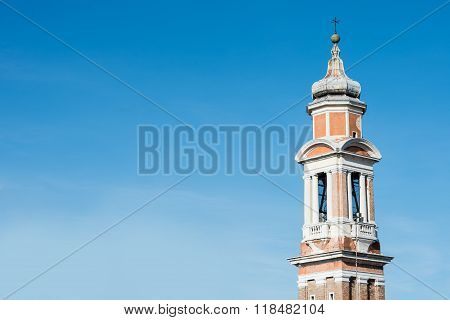 Towers And Steeples In Venice